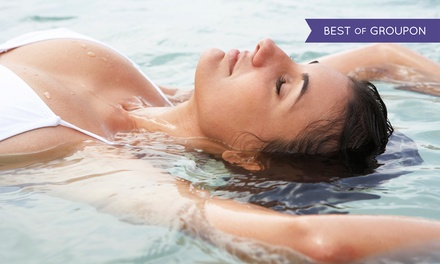 60- or 90-Minute Float Session with Steam-Room, Sauna, and Hot-Tub Use at Everett House Healing Center (Up to 40% Off)