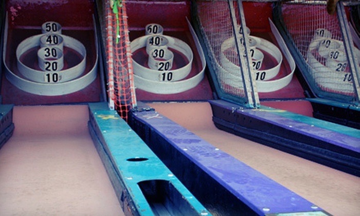Baltimore Barskee League - Towson: Skee-Ball League Membership for One or Eight from Baltimore Barskee League (Up to 57% Off)