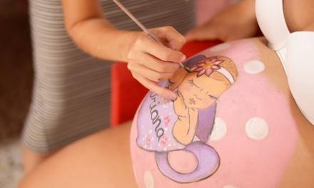 Sesión Belly Painting Detalle o Básico para embarazada desde 39,90 € en Belly Painting