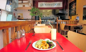 Govinda's: Main Meal with Drink for Up to Four at Govinda's (Up to 48% Off)