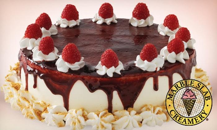 Marble Slab Creamery - Cataraqui North: $18 for One Large Ice-Cream Cake at Marble Slab Creamery (Up to $35.95 Value)