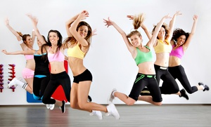H.E.A.T. Fitness: One Month of Classes or 10 or 20 Zumba Classes at H.E.A.T. Fitness (Up to 58% Off)