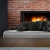 Deluxe Ultra-Plush Orthopedic Pet Dog Bed