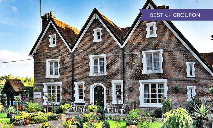 East Sussex: 1 or 2 Nights for Two with Breakfast and Dinner at The Boship (Lions) Farm Hotel
