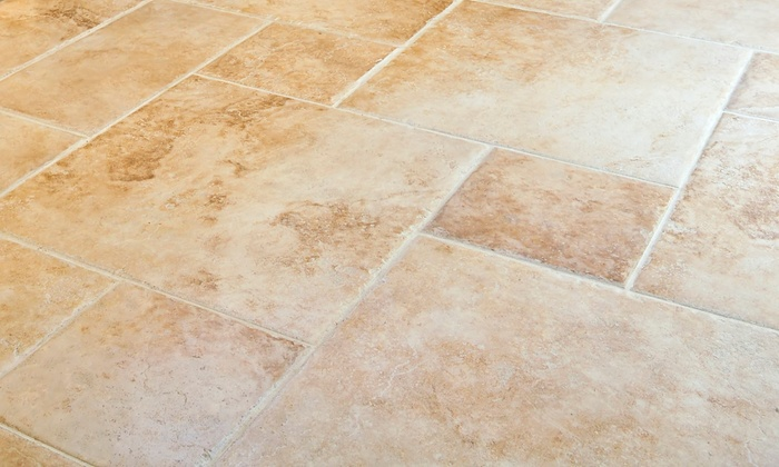 Floor Tile And Grout Cleaning Klean Dry Groupon - Cleaning dried grout off tile