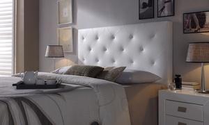 Tête de lit en cuir synthétique