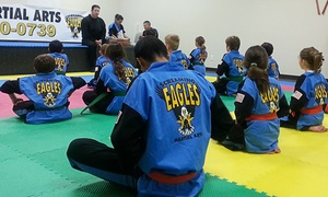 Screaming Eagles Martial Arts: Four or Six Weeks of Classes for a Child, Teen, or Adult at Screaming Eagles Martial Arts (Up to 61% Off)