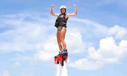 60-Minute Flyboarding Lesson for One or Two at Redbullzzz Miami Flyboarding (Up to 46% Off)