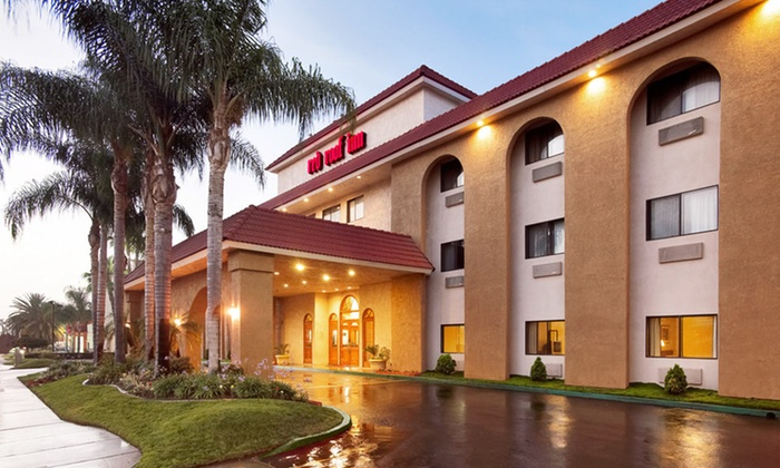 null - Los Angeles: Stay with Optional Extended Parking at Red Roof Inn Ontario Airport in California. Dates Available into February.