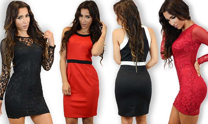 Holiday Cocktail Dresses - Fn Dress