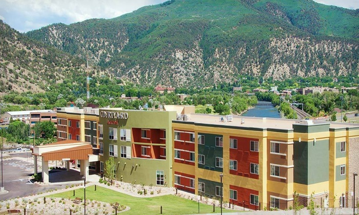 null - Denver: Stay at Courtyard by Marriott Glenwood Springs in Glenwood Springs, CO, with Dates Through June 6