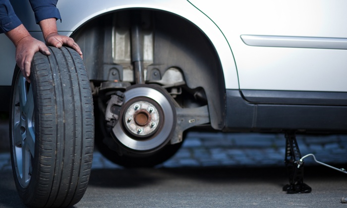 Tire Hunter - West Valley: Oil Change with Tire Rotation, Snow-Tire Balance, or Winterization Package at Tire Hunter (Up to 61% Off)