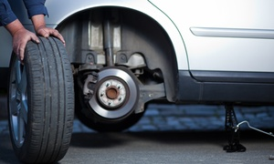 Eikestad Fitment Centre: Alignment, Tyre Rotation, Battery Test from R140 with Optional Air-con Test at Eikestad Fitment Centre (Up to 70% Off)