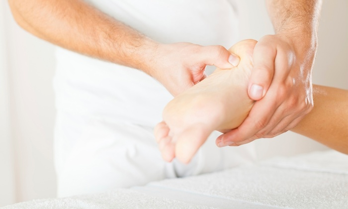 Hu's Pain Management & Wellness Center - Hu's Acupuncture & Massage P.C.: 1 or 2 Foot Reflexology Massage with 1-Year Membership at Hu's Pain Management & Wellness Center (Up to 53% Off)