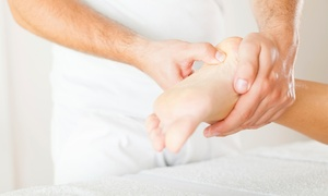 Total Reflex Health: 60-Minute Reflexology Session with Option to Add Natural Pedicure at Total Reflex Health (Up to 46% Off)
