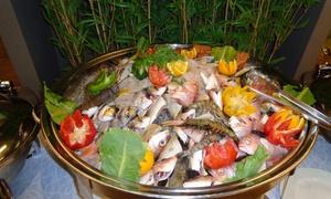 Lemon Lounge at Ramada Abu Dhabi Corniche: Seafood Buffet with Unlimited Mocktails at Lemon Lounge at Ramada Abu Dhabi Corniche (Up to 67% Off)