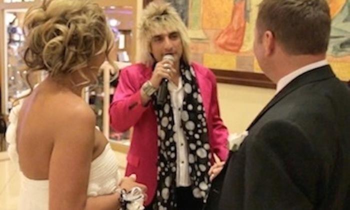 "Weddings ""rod Stewart"" - Las Vegas: $330 for $600 Groupon — Weddings ""Rod Stewart"""