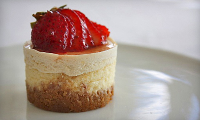Le Petit Cheesecakes - San Antonio: $25 for 16 Mini Cheesecakes or Bonbons with Delivery from Le Petit Cheesecakes (Up to $50 Value)