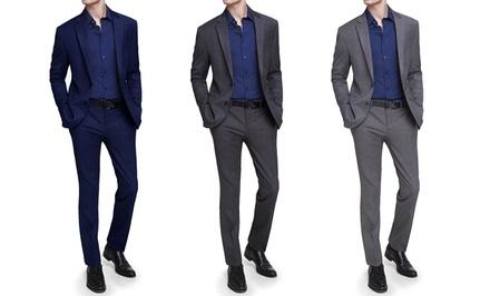 Mario Rossi Men's 2-Piece Slim-Fit Suits
