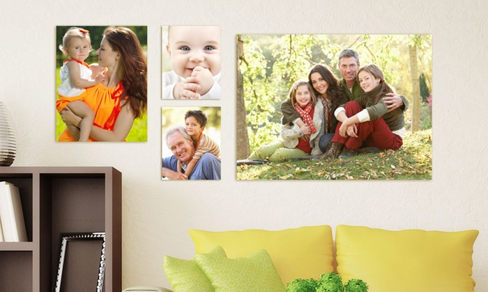 """Picture it on Canvas **NAT**: 7""""x10"""", 11""""x14"""", 16""""x20"""", or 20""""x30"""" Custom Photo Print on Metal from Picture it on Canvas (Up to 92% Off)"""