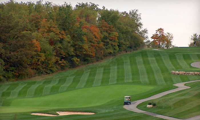 The Club at Blackthorne - Penn: 18-Hole Round of Golf with Cart Rental for Two or Four at The Club at Blackthorne (Half Off)