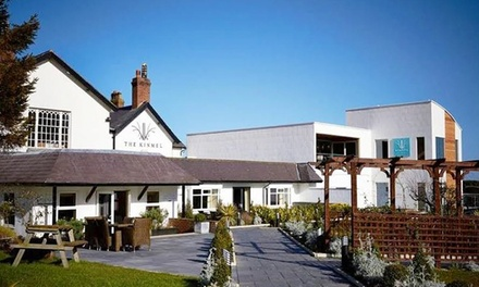 Conwy, North Wales: 1 or 2 Nights for Two with Breakfast, AA Rosette Dinner and Spa Access at the 4* The Kinmel
