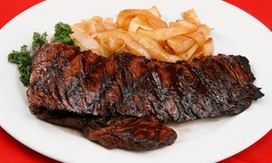 Frank's Steaks : Steakhouse Cuisine for Two or Four or More at Frank's Steaks (Up to 40% Off)