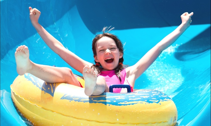 Midwest Pool Management (City of KC/Springs/Bay Waterparks) - South Kansas City: General Admission for 4 or Birthday Package for Up to 12 at The Bay Water Park (Up to 52% Off)
