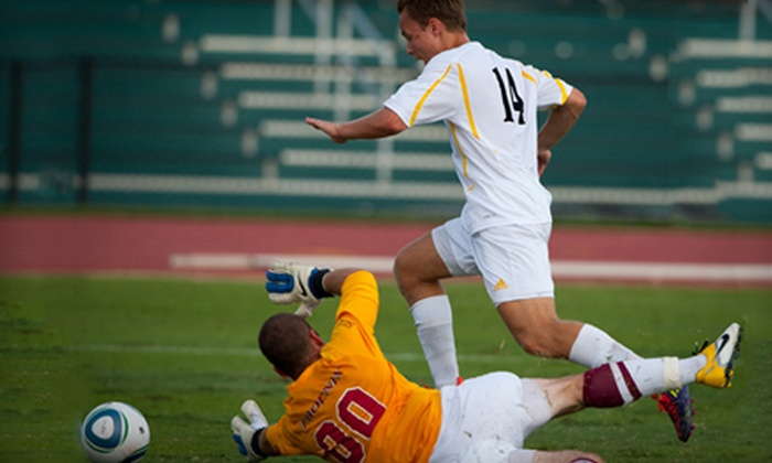 VCU Rams Soccer - The Diamond: VCU Men's or Women's Soccer Game for Two or Four at SportsBackers Stadium (Up to 54% Off)