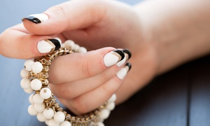 The Eyelash Connection: Gel Manicure with Tips, Accents, and Optional Fill on a Full Set at The Eyelash Connection (Up to 51% Off)