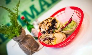 Mr. Burrito: Burrito und Nachos nach Wahl inkl. 1 Softgetränk für 1 oder 2 Personen bei Mr. Burrito ab 6,90 € (bis zu 50% sparen*)