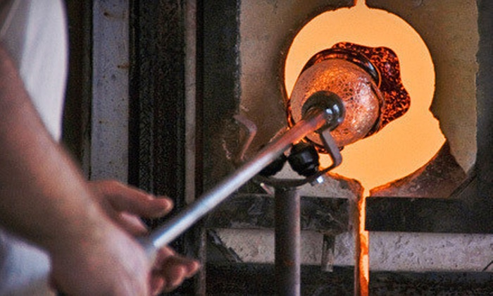 Aaron Tate - Marrs Art Studio: BYOB Glass-Blowing Workshop for One, Two, or Four from Aaron Tate (Up to 54% Off)