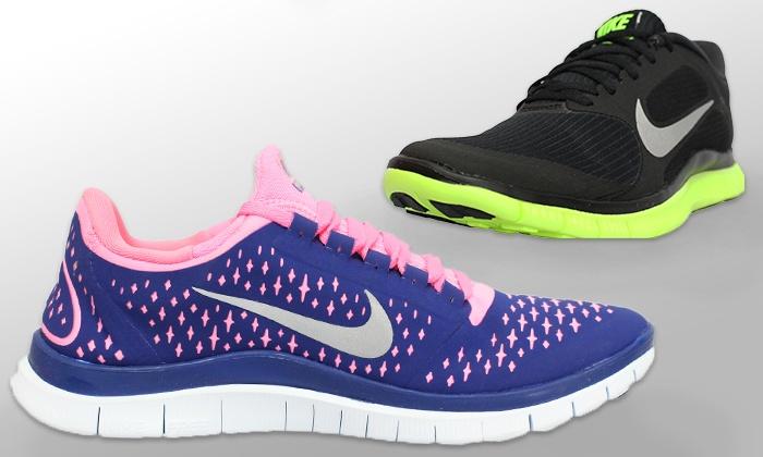 Nike Free 5.0 Volt  / Vert Électrique  / Photo Bleu  / Couette Noir