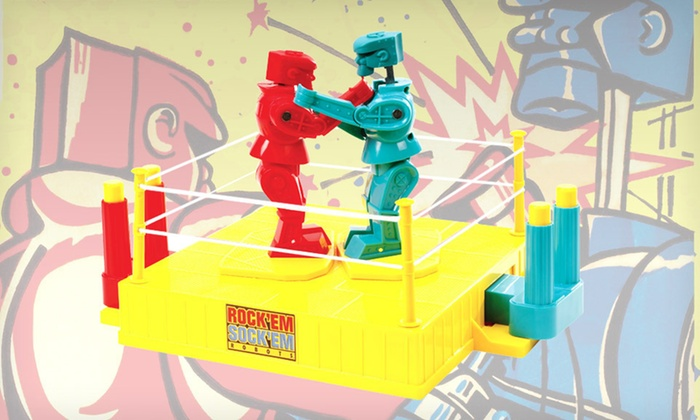 Rock 'Em Sock 'Em Robots Game: $19 for a Rock 'Em Sock 'Em Robots Game with Shipping ($22.48 List Price). Free Returns.