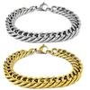 Men's Miami Curb Stainless Steel Bracelet
