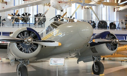 Admission to Aero Space Museum of Calgary for Two Adults or a Family (Up to 48% Off)