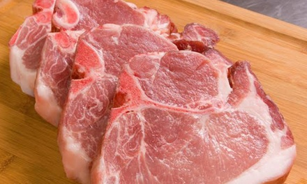 Half or Whole Farm-Fresh Berkshire Hog with Delivery from Alexander-King Farms (Up to 17% Off)