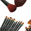 Professional Cosmetic Brush Set with Carrying Case (24-Piece)