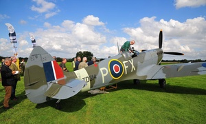 Aero Legends: Spitfire Cockpit Experience with Refreshments: Sywell or Headcorn Aerodrome (Up to 45% Off)