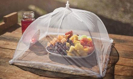 "17"" Food Cover Rectangle Mesh Umbrella (3-Pack)"