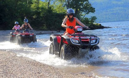 image for Quad Safari on Inchmurrin Island and a Fast Rib Boat Trip for One or Two from Jetski Safari Loch Lomond (Up to 53% Off)