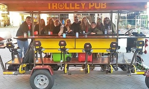 Trolley Pub - Raleigh: Trolley Pub Tour for Two or Four or a Private Trolley Pub Tour for 14 from Trolley Pub Raleigh (Up to 47% Off)