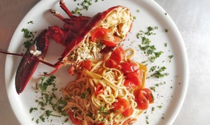 Ristorante L'Ancora: Menu di pesce con calice di vino sul lungomare di Pescara per 2 o 4 persone daRistorante L'Ancora (sconto fino a 69%)