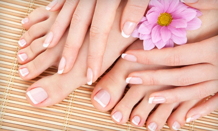 Megan's Loft...a hair and nail studio - Monroeville: One or Three Basic Manicures and Spa Pedicures at Megan's Loft…a hair and nail studio in Monroeville (Up to 55% Off)