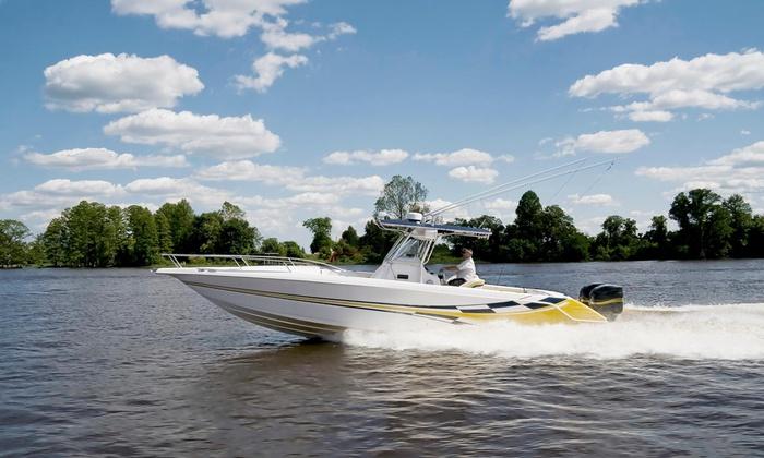 Shine Time Boat Detailing - Boca Raton, FL - Palm Beach: $405 for $900 Groupon — Shine time boat detailing Inc