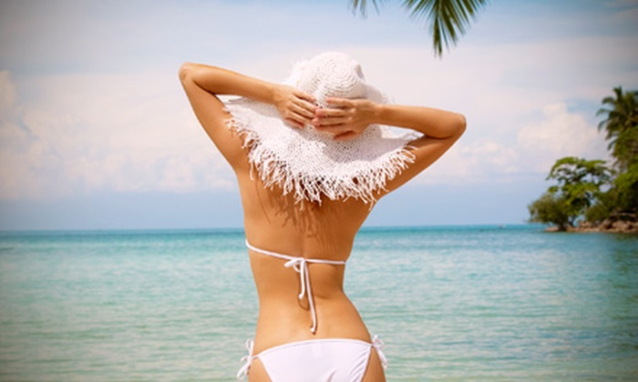 Spa Cara - Floral Park: Airbrush Spray Tan and Moisture-Lock Application with Optional Pretan Dry-Brush Exfoliation at Spa Cara (Up to 65% Off)