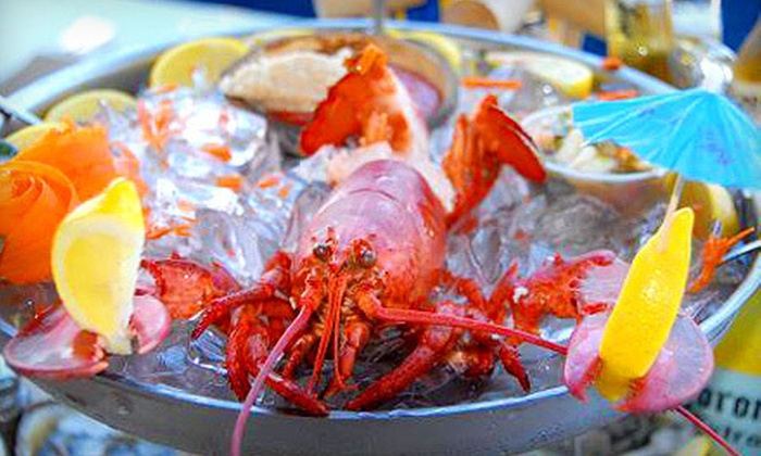 Clemente's Maryland Crabhouse - Sheepshead Bay: $39 for a Lobster Meal with Crabs, Drinks, and Dessert for Two at Clemente's Maryland Crabhouse (Up to $86.80 Value)