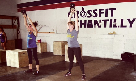 One or Two Months of Unlimited CrossFit Classes or Four Boot-Camp Classes at CrossFit Chantilly (Up to 61% Off)