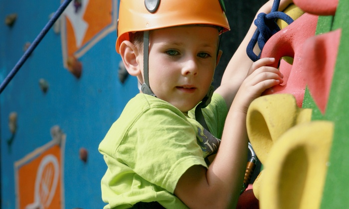 ClimbX - Huntington Beach: $75 for a Kids' Rock-Climbing Camp at ClimbX ($140 Value). Six Options Available.