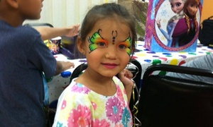 Fancy Faces Professional Face Painting: One Hour of Face-Painting Services from Fancy Faces face painting (45% Off)
